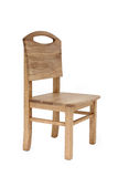 Chair. Wooden kid chair Royalty Free Stock Photos
