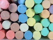 Children's Chalk. Close up of children's chalk Royalty Free Stock Photos
