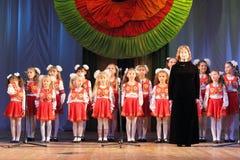 Children's choir Stock Photo