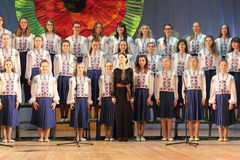 Children's choir Royalty Free Stock Photo