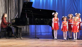 Children's choir Royalty Free Stock Photography