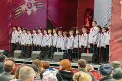The children's choir. Royalty Free Stock Photography