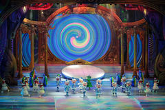 Children's Christmas show Royalty Free Stock Images