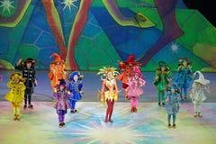 Children's Christmas show Royalty Free Stock Photo