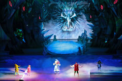 Children's Christmas show Stock Image