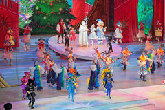 Children's Christmas show Stock Photography