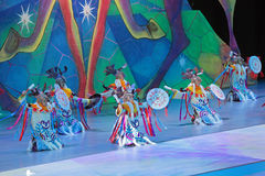 Children's Christmas show Royalty Free Stock Photo