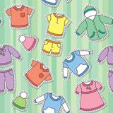 Children's clothes Stock Photo