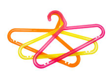 Children's clothes hanger Royalty Free Stock Photo