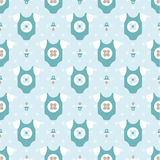 Children's clothes pattern Royalty Free Stock Photos