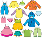 Children's Clothing Royalty Free Stock Photo