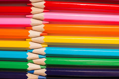 Children`s color pencils for drawing Royalty Free Stock Images
