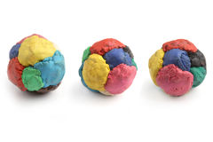 Children`s Colored Plasticine. Royalty Free Stock Image
