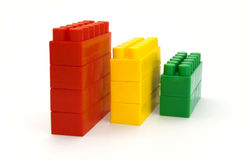 Children's cubes Stock Photography