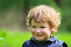 Children's curiosity Royalty Free Stock Photos