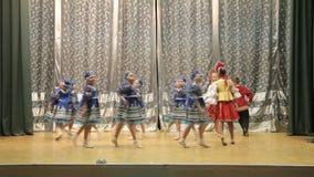 Children's Dance stock video footage