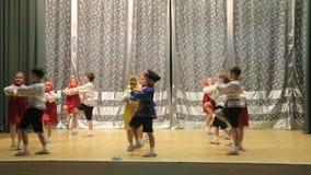 Children's Dance stock video