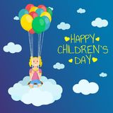 Children`s Day. Royalty Free Stock Image
