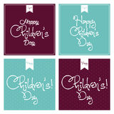 Children's Day Royalty Free Stock Photos