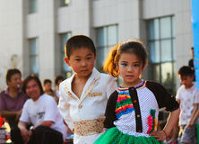 Children's Day performance Royalty Free Stock Image