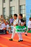 Children's Day performance Stock Photo
