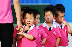 Children's Day performance royalty free stock images