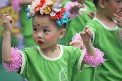 Children s Day performance Royalty Free Stock Photography