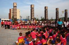 Children's Day performances Royalty Free Stock Photos