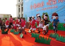 Children's Day performances Stock Image