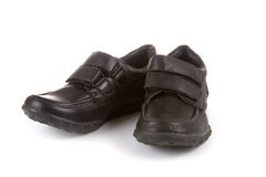 Children's demi boots Stock Images