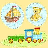 Children's design element.  Royalty Free Stock Images
