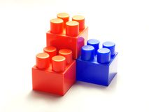 The children's designer cubes royalty free stock images