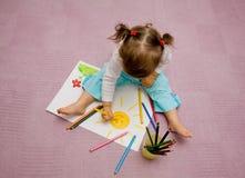 Children's drawing Stock Image