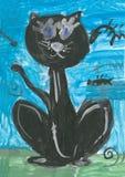Children's drawings Stock Photo