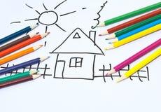 Children's drawings.