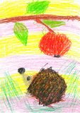 Children's drawings Royalty Free Stock Image