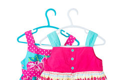 Children `s dresses Royalty Free Stock Photography