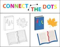 Children s educational game for motor skills. Connect the dots picture.. Children s educational game for motor skills. Connect the dots picture. For children Royalty Free Stock Image