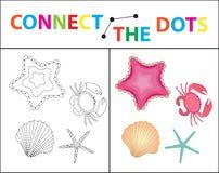 Children s educational game for motor skills. Connect the dots picture.. Children s educational game for motor skills. Connect the dots picture. For children Stock Photo