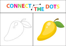 Children s educational game for motor skills. Connect the dots picture.  Stock Photos
