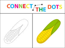Children s educational game for motor skills. Connect the dots picture.   Royalty Free Stock Photo