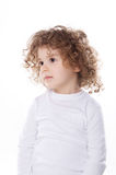 The children's emotions isolated Stock Photos