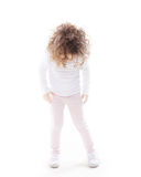 The children's emotions isolated Stock Images