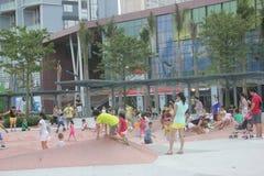 Children's entertainment square in SHENZHEN NANSHAN Stock Image