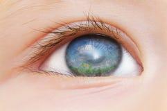 Children's eye Stock Photos
