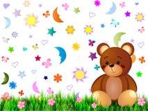 Children's fairytale background Stock Photo
