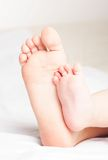 Children's feet Royalty Free Stock Images