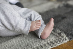 Children's feet Stock Images