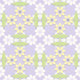Children's floral seamless pattern. Stock Photography