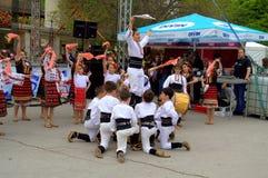 Children's Folklore Ensemble Royalty Free Stock Image